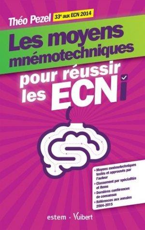 Les moyens mnémotechniques pour réussir les ECNI - estem / vuibert - 9782843718724