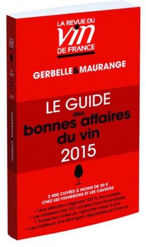 Le guide des bonnes affaires du vin 2016-la revue du vin de france-9782848317397