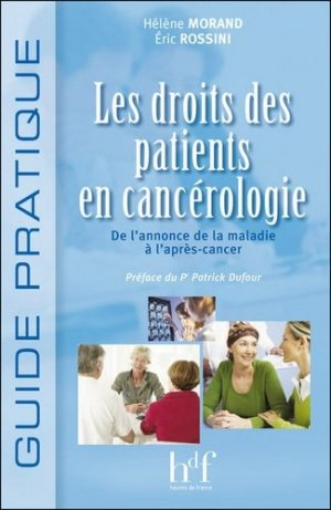 Les droits des patients en cancérologie-heures de france-9782853853286