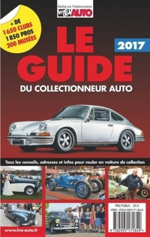 Le guide du collectionneur auto 2018-lva-9782905171894