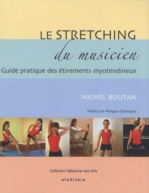 Le stretching du musicien - alexitere - 9782952761635