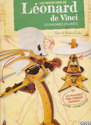 Les inventions de Léonard DE VINCI - sassi - 9788868609726
