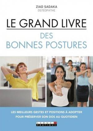 Le grand livre des bonnes postures - leduc - 9791028512262