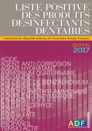 Liste positive des produits désinfectants dentaires (LPDD)-association dentaire francaise - adf-2225401990400