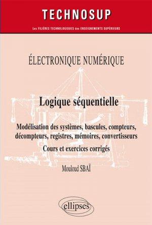 Logique séquentielle - ellipses - 9782340029569