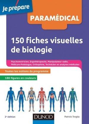 150 fiches visuelles de biologie pour réviser les concours paramédicaux-dunod-9782100742417