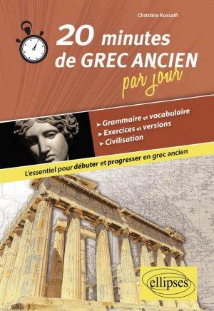 20 minutes de grec ancien par jour-ellipses-9782340014923
