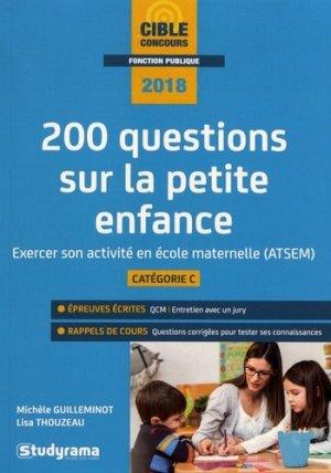 200 questions sur la petite enfance-studyrama-9782759037100