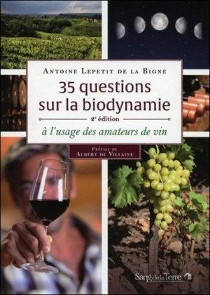 35 questions sur la biodynamie-sang de la terre-9782869853164