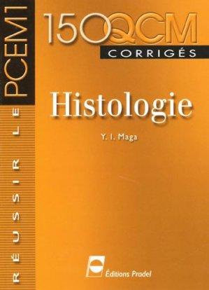 Histologie 150 QCM corrigés-pradel-9782913996205