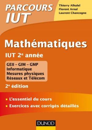 Mathématiques IUT 2e année-dunod-9782100777587