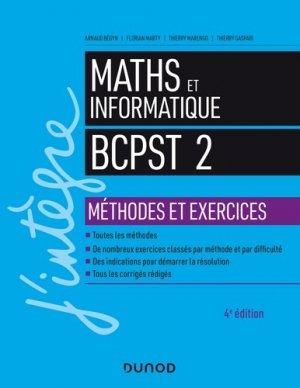Mathématiques et informatique 2e année - dunod - 9782100790432