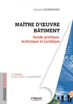 Maître d'oeuvre Bâtiment-eyrolles-9782212674705