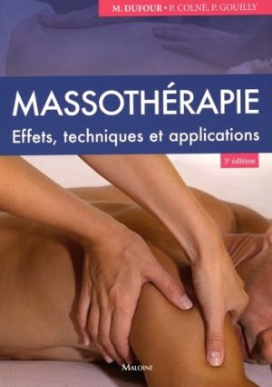 Massothérapie - maloine - 9782224034689