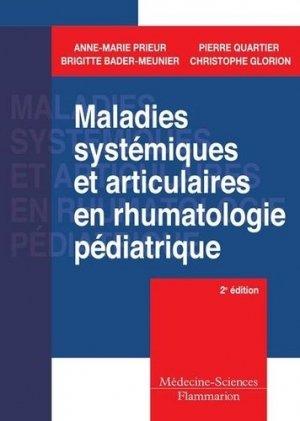 Maladies systémiques et articulaires en rhumatologie pédiatrique-lavoisier msp-9782257000552