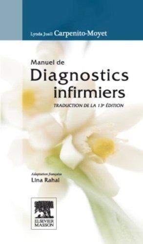 Manuel de diagnostics infirmiers-elsevier / masson-9782294726972