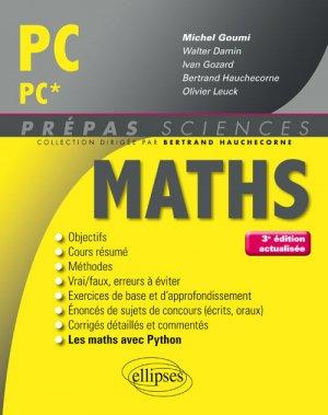 Maths PC PC* - ellipses - 9782340018662