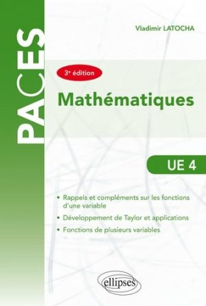 Mathématiques UE4-ellipses-9782340027893