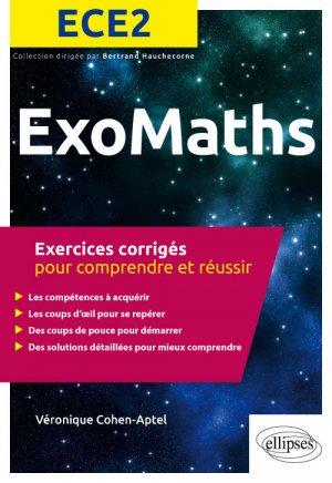 Exos Maths ECE2 - ellipses - 9782340028647