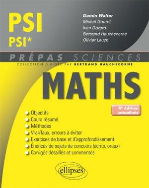 Maths PSI PSI*-ellipses-9782340029484