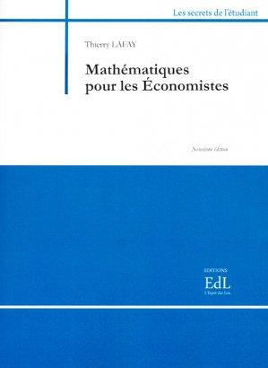 Mathématiques pour les économistes - archetype 82 - 9782363411884