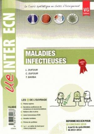 Maladies infectieuses - vernazobres grego - 9782818309933