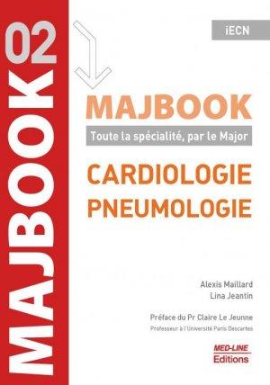 MajBook, Cardiologie - pneumologie - med-line - 9782846782470