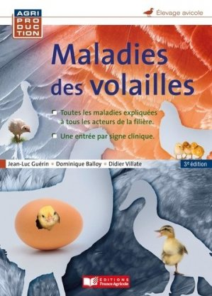 Maladies des volailles - france agricole - 9782855575131