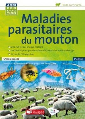 Maladies parasitaires du mouton-france agricole-9782855576053