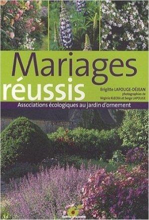 Mariages réussis - terre vivante - 9782914717892
