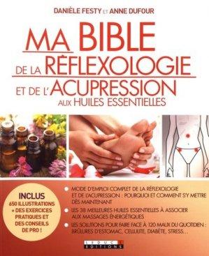 Ma bible de la réflexologie et de l'acupression aux huiles essentielles-leduc-9791028503345