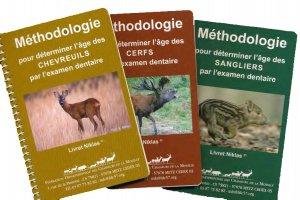 Méthodologie pour déterminer l'âge - 3 livrets-chasse et territoire de l'est-2225312269039