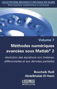 Méthodes numériques avancées sous Matlab 2-iste-9781784054472