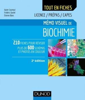 Mémo visuel de biochimie - dunod - 9782100782871