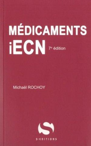 Médicaments iECN - s editions - 9782356401878