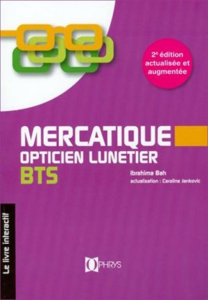 Mercatique, opticien lunetier BTS-ophrys-9782708012981