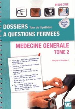 Médecine générale Tome 2 - vernazobres grego - 9782818307809