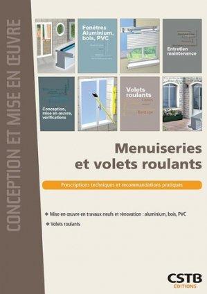 Menuiseries et volets roulants - cstb - 9782868916983