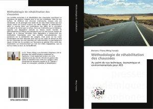 Méthodologie de réhabilitation des chaussées-presses académiques francophones-9783841641809