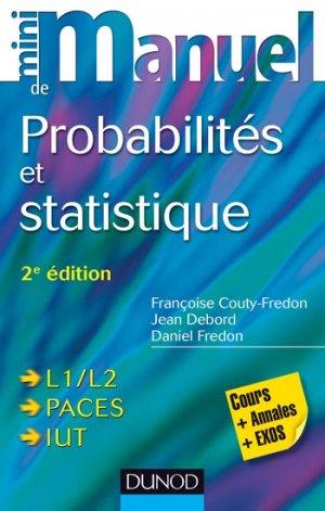 Mini Manuel de Probabilités et statistique-dunod-9782100706105