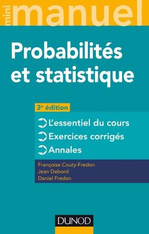 Mini Manuel - Probabilités et statistique-dunod-9782100780945