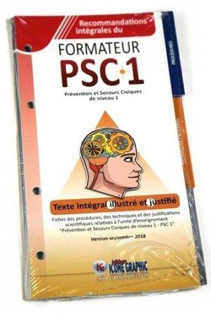 Mise a jour des fiches PSC1 - icone graphic - 9782357385283