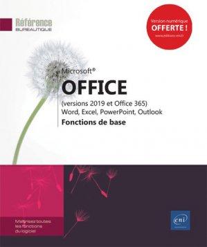 Microsoft  office (versions 2019 et office 365-eni-9782409018558