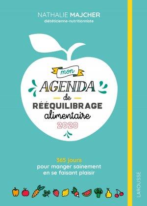 Mon agenda de rééquilibrage alimentaire-larousse-9782035962744
