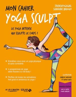 Mon cahier yoga sculpt - Solar - 9782263161520