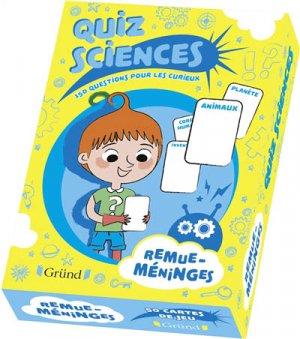 Mon quiz sciences - grund - 9782324024221