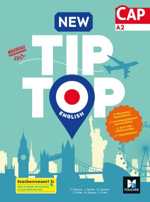 New TIP TOP English CAP 2019-foucher-9782216153503