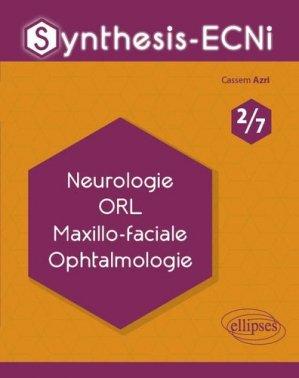 Neurologie ORL Maxillo-faciale Ophtalmologie-ellipses-9782340033078