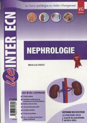 Néphrologie - vernazobres grego - 9782818311325