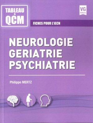 Neurologie, gériatrie, psychiatrie-vernazobres grego-9782818316603